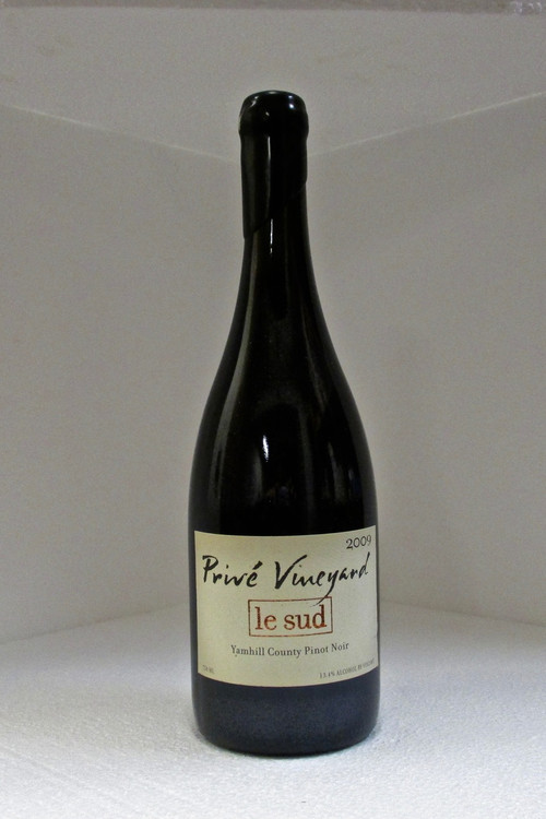Prive Vineyard Le Sud Pinot Noir Yamhill-Carlton 2009 750ml