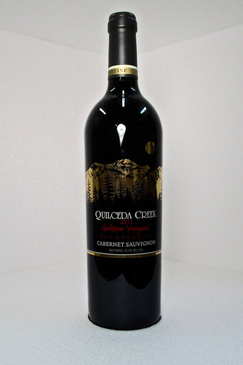 Quilceda Creek Galitzine Vineyard Cabernet Sauvignon Red Mountain 2011 750ml