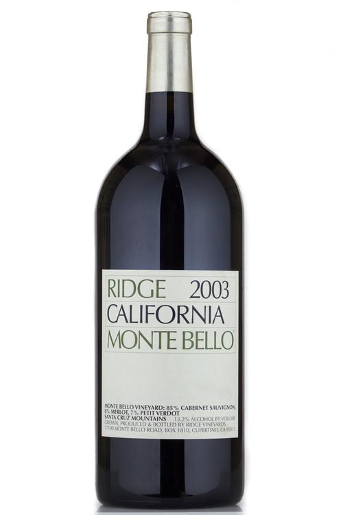Ridge Monte Bello 2003 3000ml