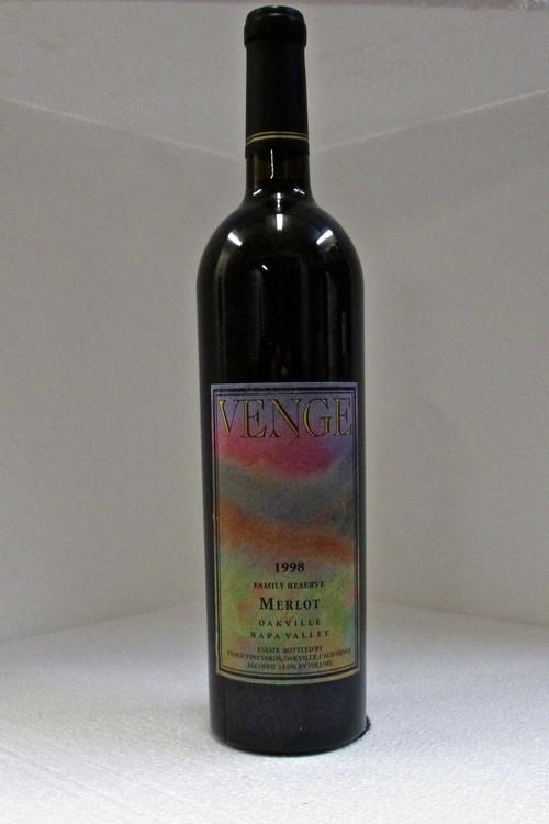 Venge Merlot Family Reserve 1998 750ml