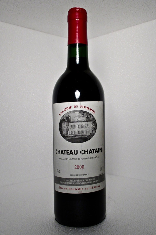 Chatain Lalande-de-Pomerol 2000 750ml
