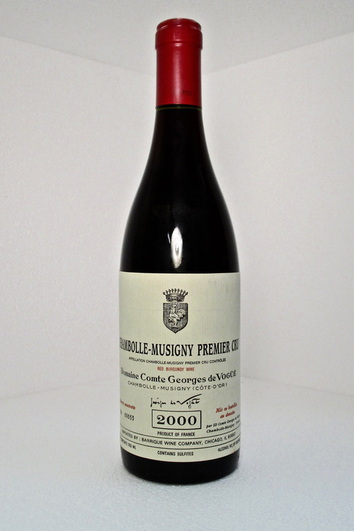 Domaine Comte Georges de VogueŸŽ Chambolle Musigny 1er Cru 2000 750ml