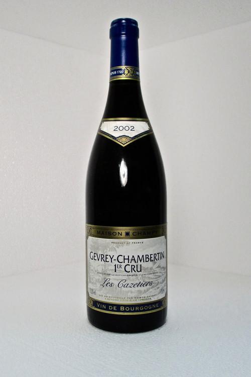 Maison Champy Gevrey Chambertin Les Cazetiers 1er Cru 2002 750ml