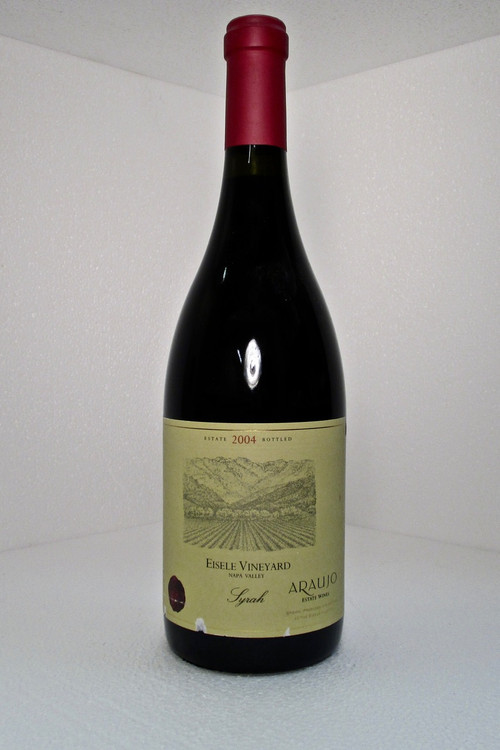 Araujo Eisele Vineyard Syrah 2004 750ml