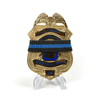 Police Mourning Bands - Blue Line