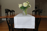 "Hemstitch Table Runners 12"" x 72"""