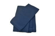 Hemstitch Dinner Napkins - Navy 20x20