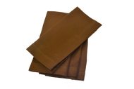 Hemstitch Dinner Napkins - Brown 20x20