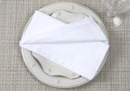 """White Kora Cotton Collection 20""""x20"""" Napkins"""