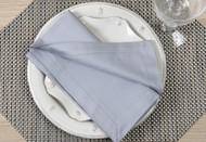 "Gray Kora Cotton Collection 20""x20"" Napkins"