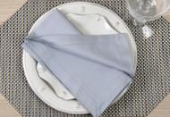 """Gray Kora Cotton Collection 20""""x20"""" Napkins"""