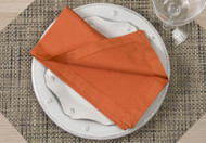 "Paprika Kora Cotton Collection 20""x20"" Napkins"