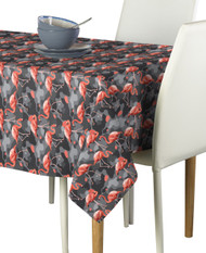 Abstract Flamingos Rectangle Tablecloths