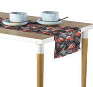 Abstract Flamingos Table Runners