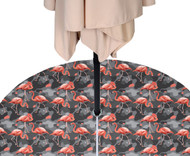 Abstract Flamingos Outdoor Waterproof Tablecloths
