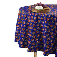 American Bald Eagle Blue Round Tablecloths