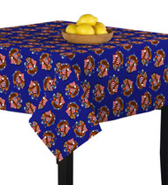 American Bald Eagle Blue Square Tablecloths