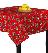 American Bald Eagle Red Square Tablecloths