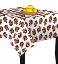 American Bald Eagle White Square Tablecloths