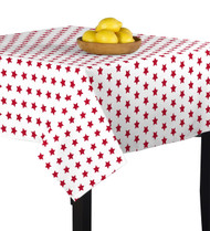 American Red Stars Square Tablecloths