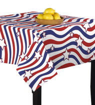 American Stars & Stripes Square Tablecloths