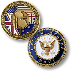 Operation Iraqi Freedom Navy Coin