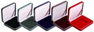 Leatherette Presentation Coin Box