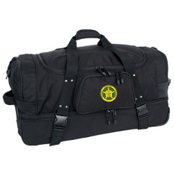 Wheeled Duffle w/ Drop Bottom