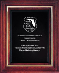 Cherry Award Plaque (Small) 9