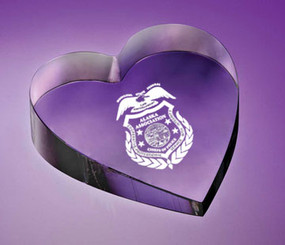 Heart Paperweight 9