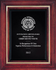 Cherry Award Plaque (Small) 8