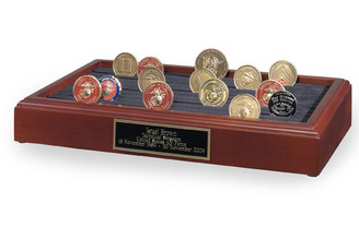 11 Row Coin Holder