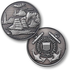 Coast Guard Theme - USCG Nickel Antique Coin