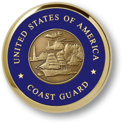 Coast Guard Theme Coaster