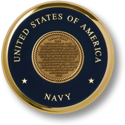 Sailors Creed Brass Coaster