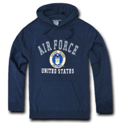 Air Force Fleece Pullover Hoodies