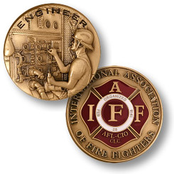 Firefighter Engineer - IAFF Coin