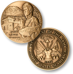 Fort Lewis Army Coin