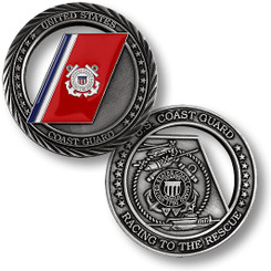Coast Guard Racing to the Rescue Coin