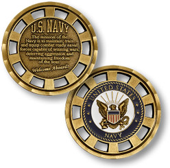 U.S. Navy Mission Coin