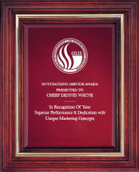 Cherry Award Plaque (Small) 7