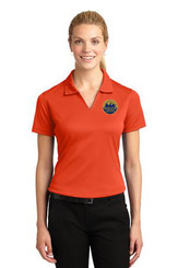 Sport-Tek® Ladies Dri-Mesh® V-Neck Polo 2