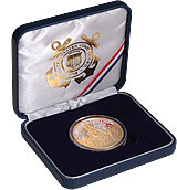 America Unites USCG Gold Select Coin