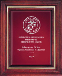 Cherry Award Plaque (Small) 5