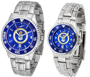 Competitor Steel AnoChrome Watch - Color Bezel 1