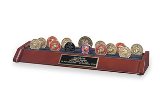 6 Row Coin Holder