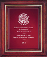 Cherry Award Plaque (Large) 8