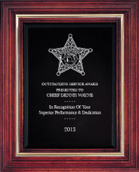 Cherry Award Plaque (Large) 11