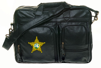 Multi-Pocket Attache - Simulated Leather 14