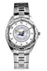 Stainless Steel Watch - Silver - WPS 4